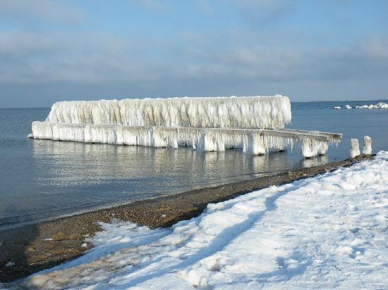 Heiligenhafen Ferienpark: unglaubliche Winterimpression