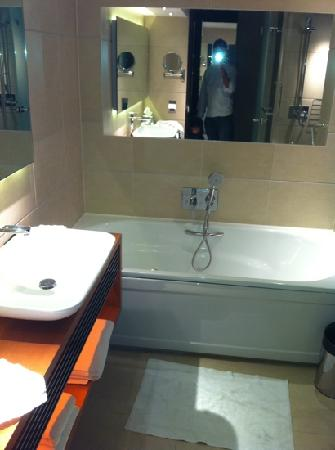 Bathroom In A Studio Room Picture Of Park Plaza Westminster Bridge London