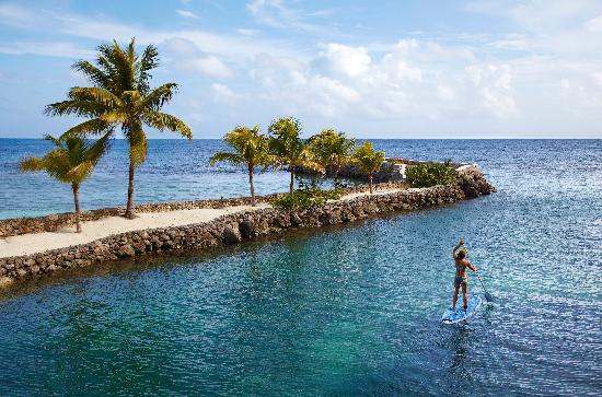Oracabessa, Jamaica: Paddle Boarding