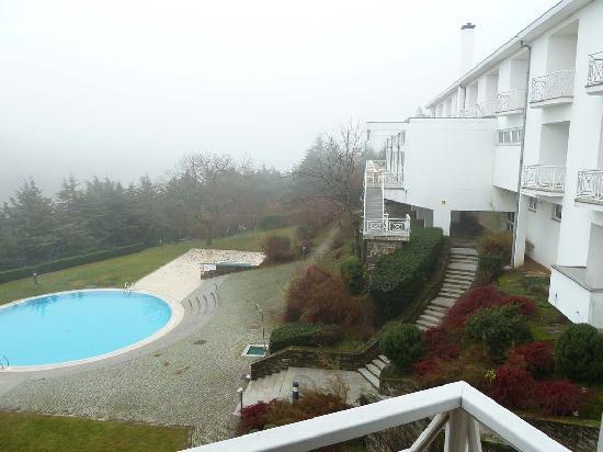 Pousada de Braganca São Bartolomeu : Mañana con niebla, desde la habitación