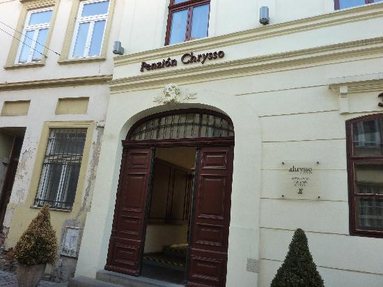Boutique Hotel Chrysso: Front of Penzion Chrysso