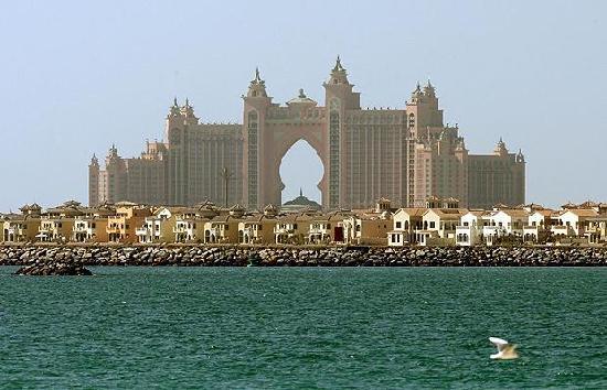 Atlantis, The Palm : مبنى الفندق
