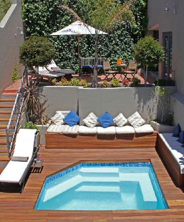 plunge pool and top terrace picture of alta bay cape town central tripadvisor. Black Bedroom Furniture Sets. Home Design Ideas