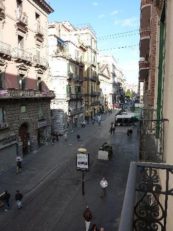 Hotel Principe Napolit'amo: Balcony view