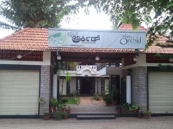 White Orchid: Resort Entrance