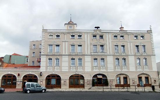 Hotel Cerny Orel in Saaz