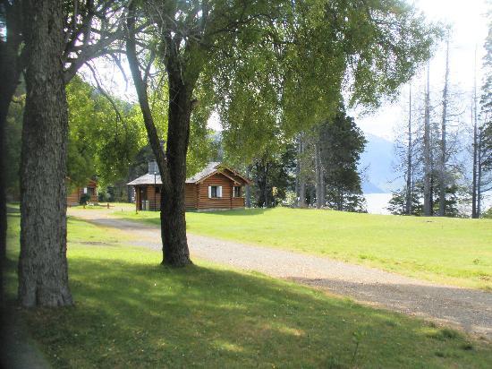Hosteria Futalaufquen: parque y bungalows