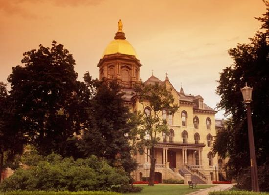 Indiana: University of Notre Dame - South Bend