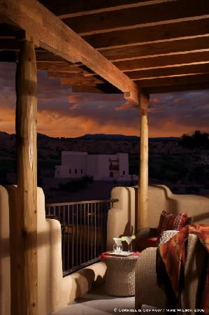 Hilton Santa Fe Buffalo Thunder: Balcony