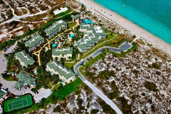 The Sands at Grace Bay: Helicopter View of The Sands