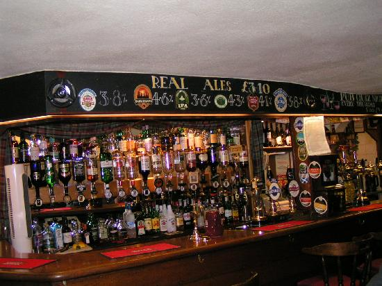 The Railway Inn: Inside