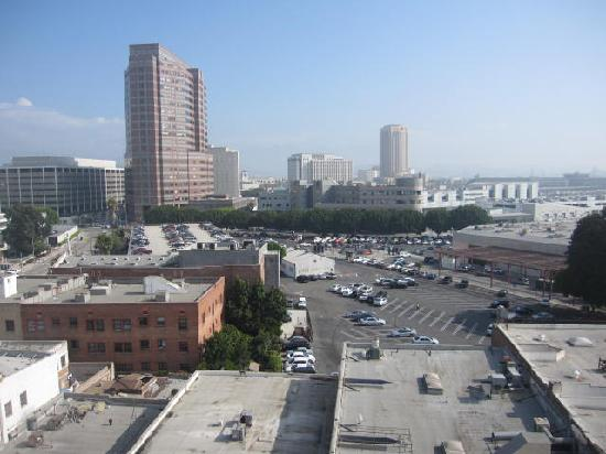 Miyako Hotel Los Angeles: View from my room
