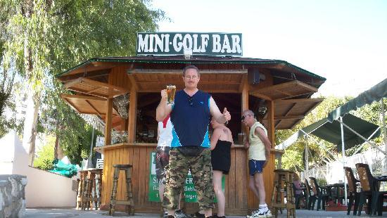 Playa Mini Golf Espana: ICE COLD BEER....