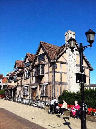 Shakespeare's Birthplace: A piece of Will history..