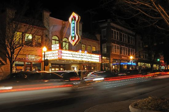 The Buskirk-Chumley Theater in Downtown Bloomington