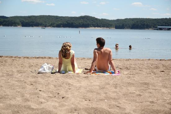 Bloomington, Индиана: The beaches of Lake Monroe
