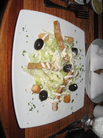 Decameron Boutique Los Delfines: caesar salad