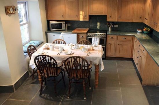 Ragstones B&B: Ragstones Cornish Bed & Breakfast - Kitchen