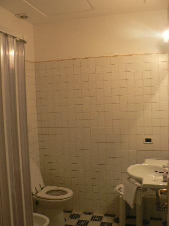Osimar Hotel: Partial View of bathroom