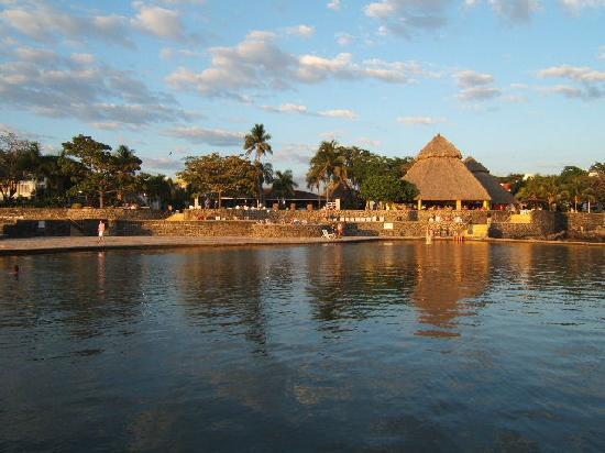 Royal Decameron Salinitas: view from salt water pool