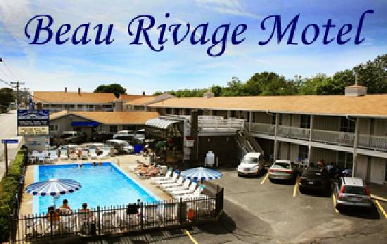 Beau Rivage Motel: Motel and Pool 54 East Grand Ave