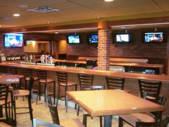 Copperhead Grille - Center Valley: the bar seats 25