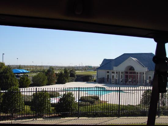 Texas Motor Speedway: Luxury private townhomes clubhouse w/Texas shaped pool