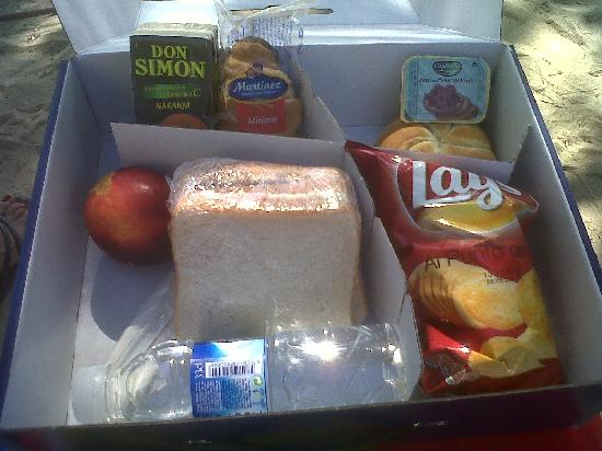 Occidental Cala Vinas: picnic