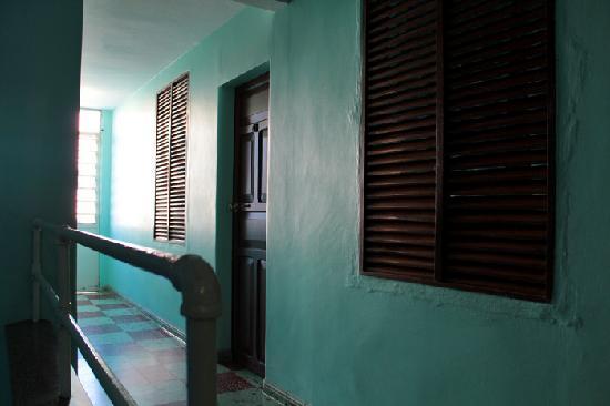 Hotel Oriente : The corridor