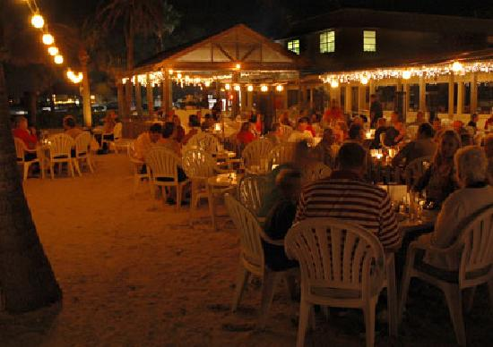 Beach house restaurant eat on the beach and enjoy the sunset