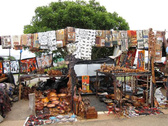 Blyde River Canyon Nature Reserve: local shopping