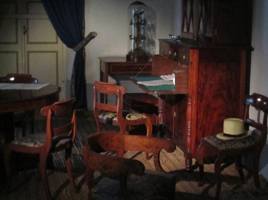 Casa Museo Quinta de Bolivar: Simon's desk
