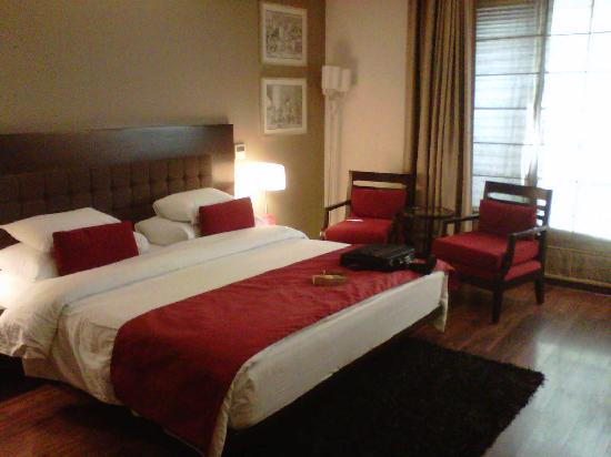 Treebo Amber: Spacious and well decorated room