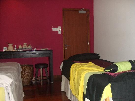 Angsana City Club & Spa Crescat City: Entrance to the treatment room