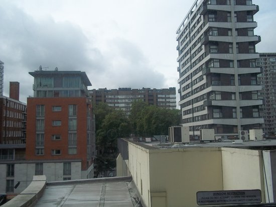 Landward Superior Apartments : View from bedroom window