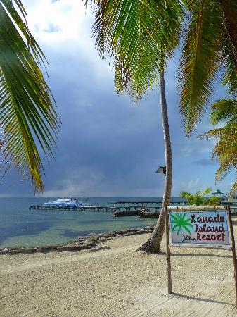 Xanadu Island Resort: The beach
