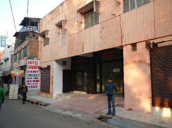 Hotel Sidhartha: Outside view
