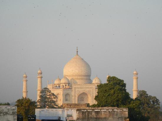 Hotel Sidhartha: View of Taj at rooftop