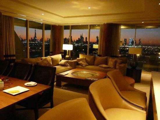 Raffles Dubai: Our Suite at Sunset