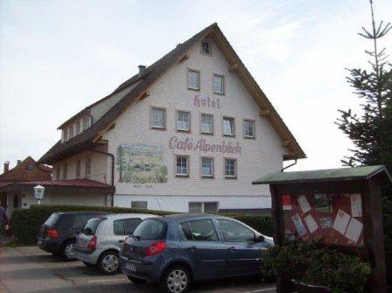 Restaurant - Cafe Alpenblick: Cafe Alpenblick