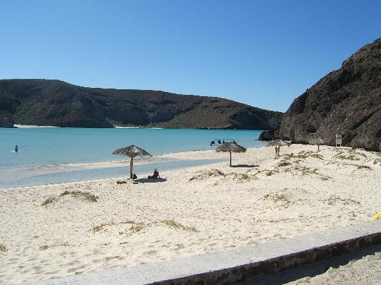 Playa Balandra: deserted except for a dozen locals