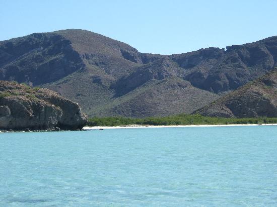 Playa Balandra: spectacular scenery