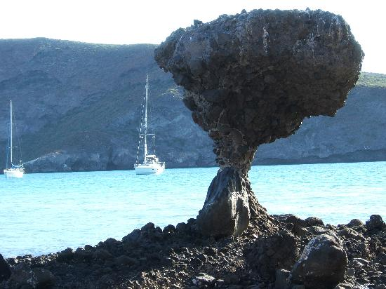 Balandra Beach : mushroom rock iconic picture