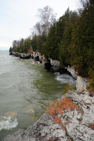 Sturgeon Bay, WI : The WI coastline