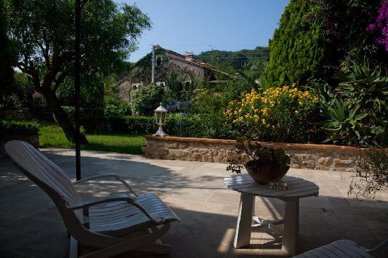 Hotel Escapade : Notre terrasse