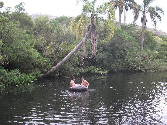 Caballos De Luz: banos en los arroyos