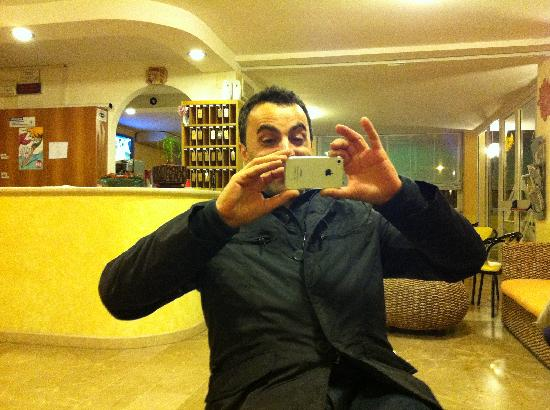 Hotel Stresa: Vito i-phone