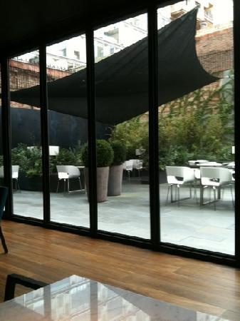 Alma Barcelona: outside terrace part of it