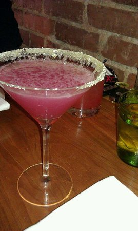 Frogs Leap Public House : Cranberry Martini