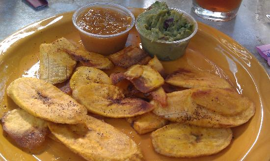 The Mossfire Grill: Plantains